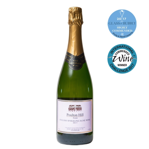Poulton Hill - English Sparkling Rosé - Brut - 2013
